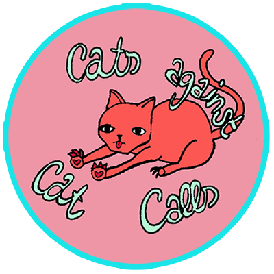 Cats against catcalls illustration